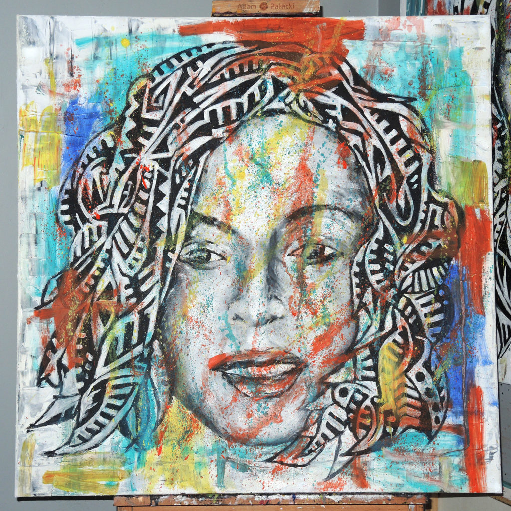 beyonce-oil-on-canvas-80x80cm-by-marcinrogal