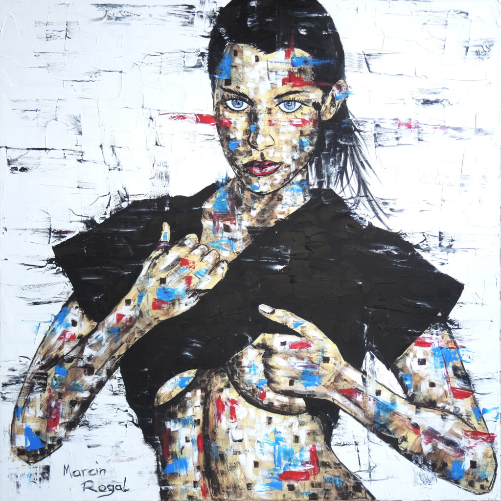 bella-hadid-art-painting-artwork-marcin-rogal